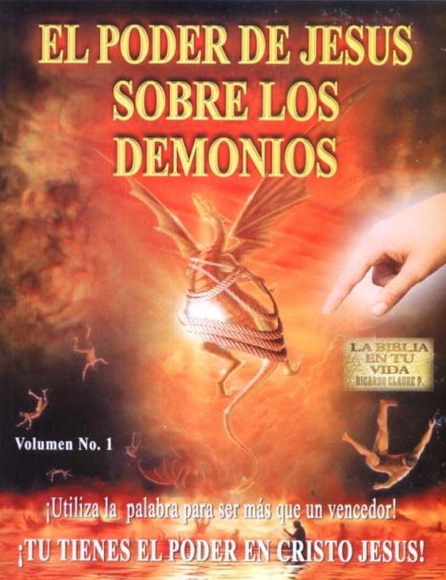 El poder de  JESÚS  Sobre los DEMONIOS  LA BIBLIA EN TU VIDA Pr. Ricardo Claure P.