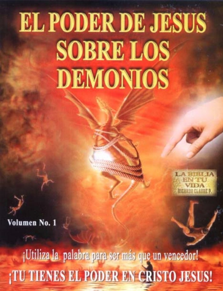 El poder de JESÚSSobre losDEMONIOS  LA BIBLIA EN TU VIDA  Pr. Ricardo Claure P.