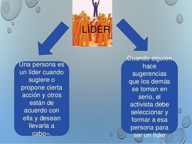 TIPOS DE LIDERAZGO  COMUNITARIOS  • LÍDER CARISMÁTICO: ES EL QUE TIENE LA CAPACIDAD  DE GENERAR ENTUSIASMO. ES ELEGIDO COM...