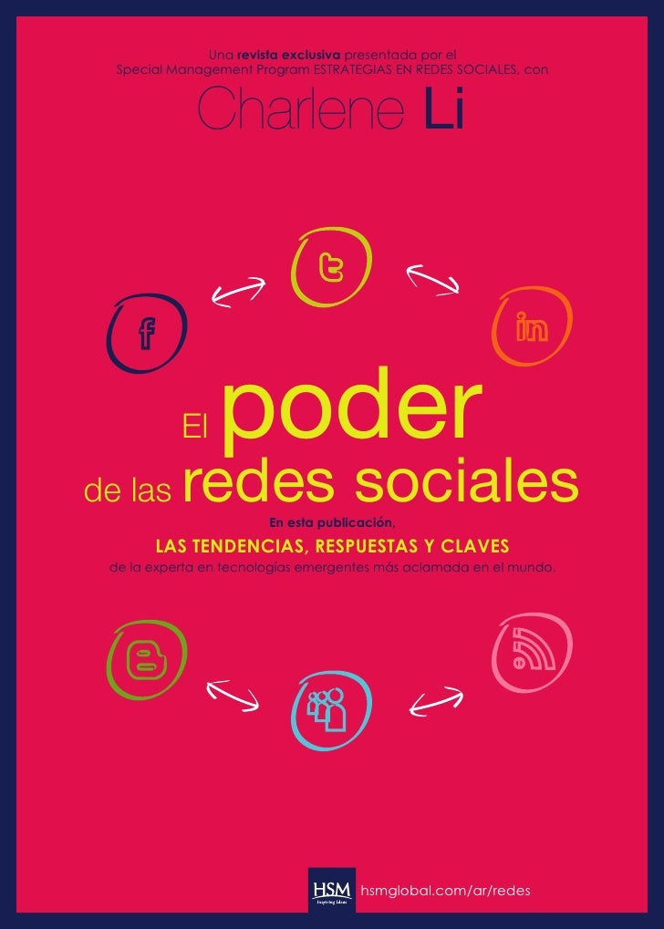 Una revista exclusiva presentada por el  Special Management Program ESTRATEGIAS EN REDES SOCIALES, con             Charlen...