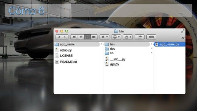 Cómo 6 setup.py LICENSE README.rst __init__.py api.py