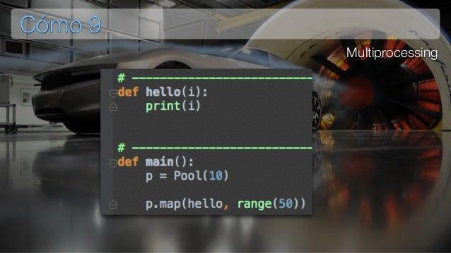 Problema 10 Ejecución de tareas en backgound Ejecución de procesos muy costosos computacionalmente Creación un flujo de inf...