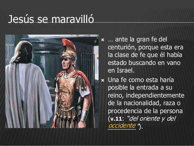Resultado de imagen de la fe del centurion