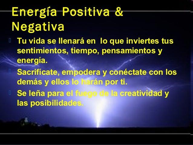 El poder de tus pensamientos - Energias positivas y negativas ...