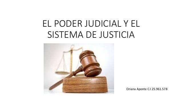 Resultado de imagen de SISTEMA JUDICIAL