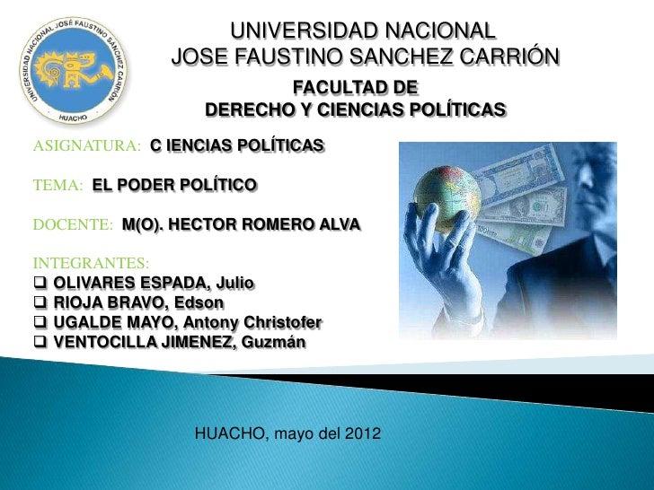 UNIVERSIDAD NACIONAL               JOSE FAUSTINO SANCHEZ CARRIÓN                          FACULTAD DE                   DE...