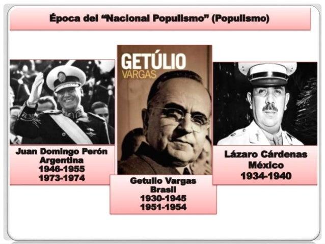 El populismo en méxico