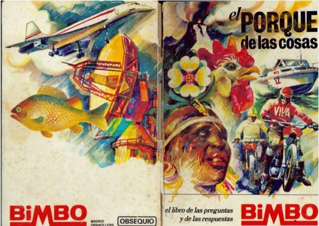 """Álbum Bimbo """"El Porqué de las cosas"""""""