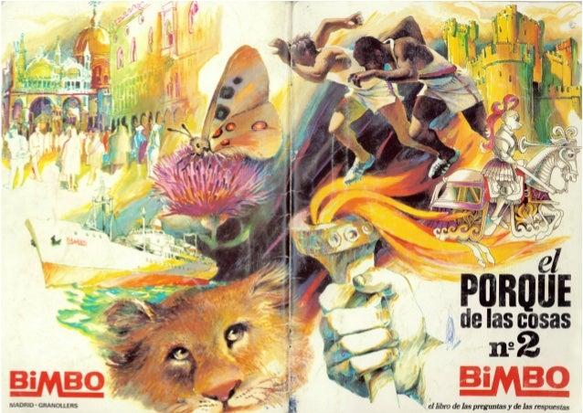"""Álbum Bimbo """"El Porqué de las cosas nº2"""""""