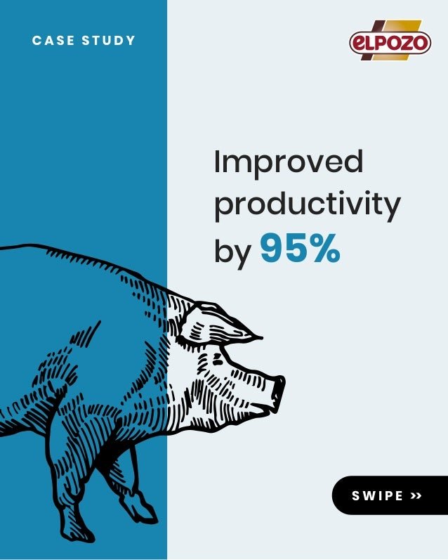 S W I P E >> Improved productivity by 95%