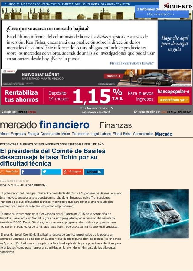 En colaboración con WWWEB FINANCIAL GROUP Macro Empresas Energía Construcción Motor Transportes Legal Laboral Fiscal Bolsa...