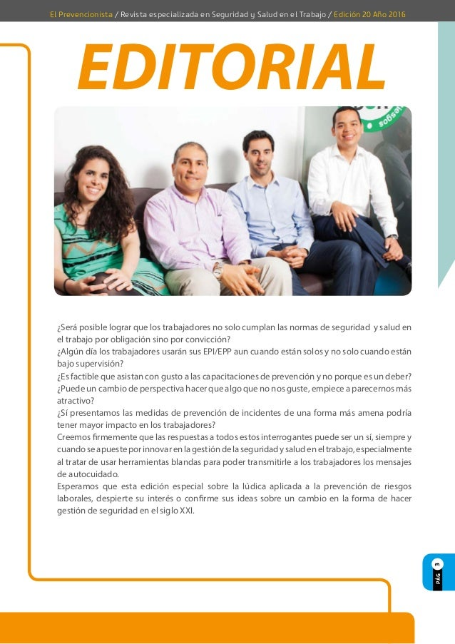Revista El Prevencionista 20ava Edición ec8369d9be