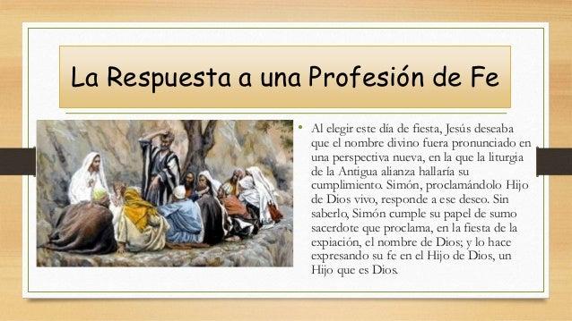 • Al elegir este día de fiesta, Jesús deseaba que el nombre divino fuera pronunciado en una perspectiva nueva, en la que l...
