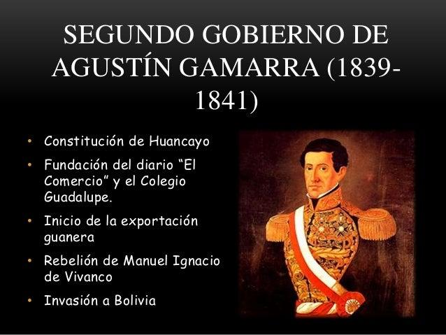 d08b31b4c SEGUNDO GOBIERNO DE AGUSTÍN GAMARRA ...