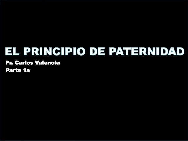 Pr. Carlos Valencia Parte 1a