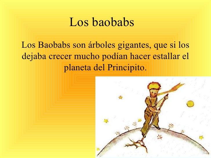 Resultado de imagen de baobab principito