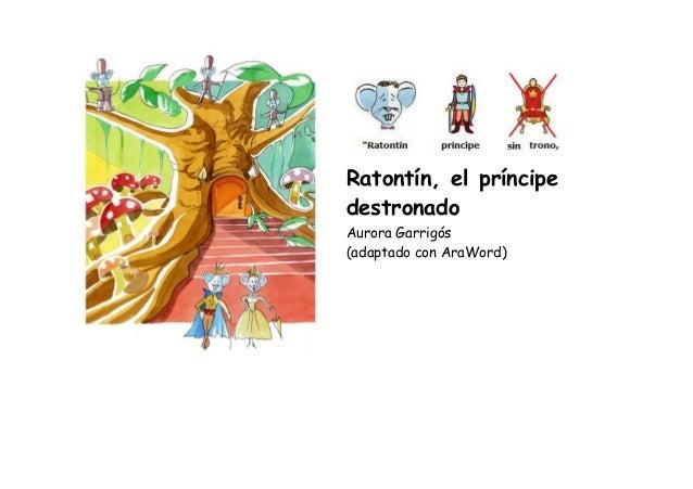 Ratontín,elpríncipe destronado  AuroraGarrigós (adaptadoconAraWord)