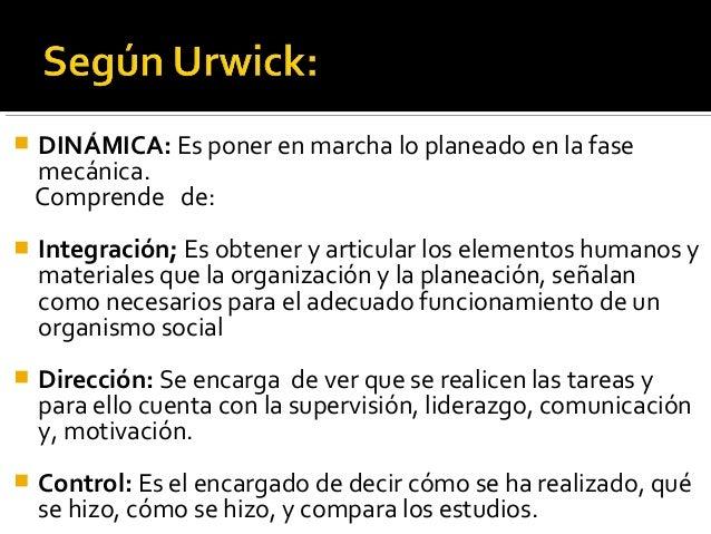 URWICK PROCESO ADMINISTRATIVO PDF DOWNLOAD