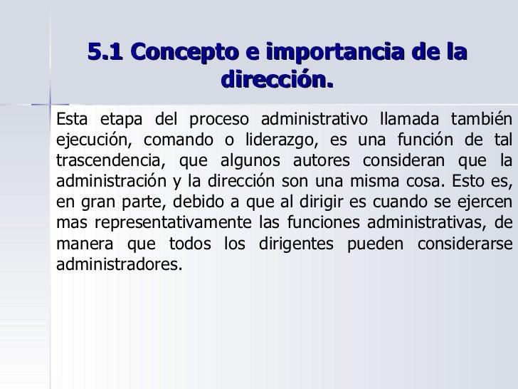 el proceso administrativo control