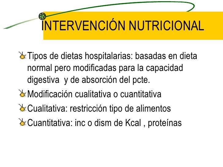 El proceso de cuidado nutricional