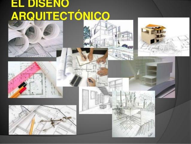 el proceso de dise o arquitect nico