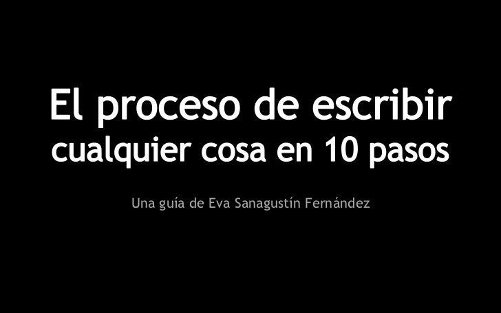 Una guía de Eva Sanagustín Fernández