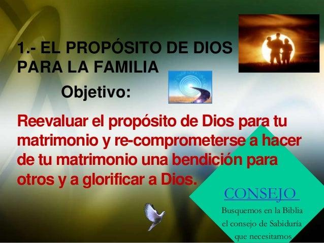 El propósito de Dios para la familia Slide 2