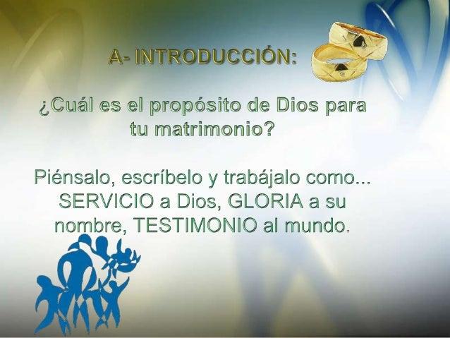 El propósito de Dios para la familia Slide 3
