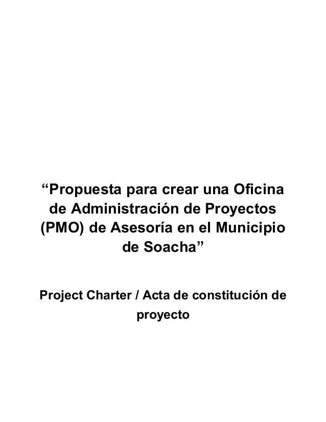 Propuesta para realizar una oficina de administraci n de for Oficina de proyectos