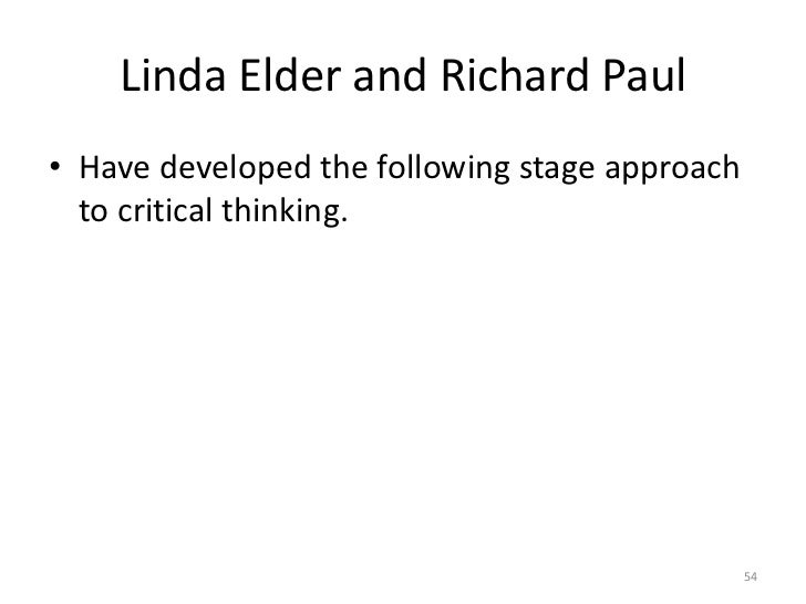 linda folk plus richard john 6 stages for imperative thinking