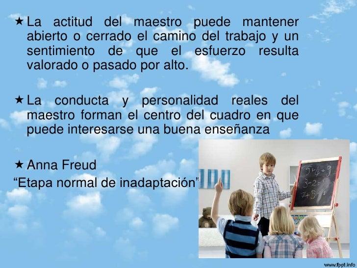 El psicoanalisis y el maestro for Maestros en el extranjero
