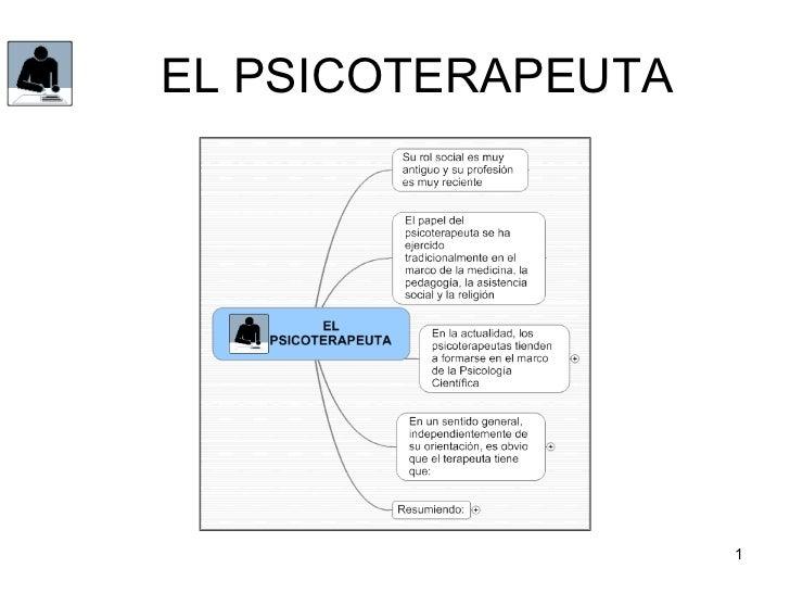 EL PSICOTERAPEUTA