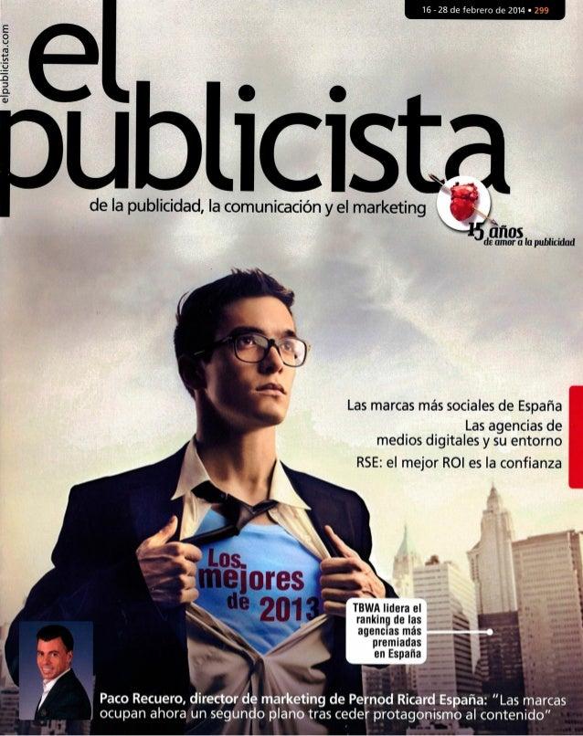 Los Mejores de 2013. El Publicista