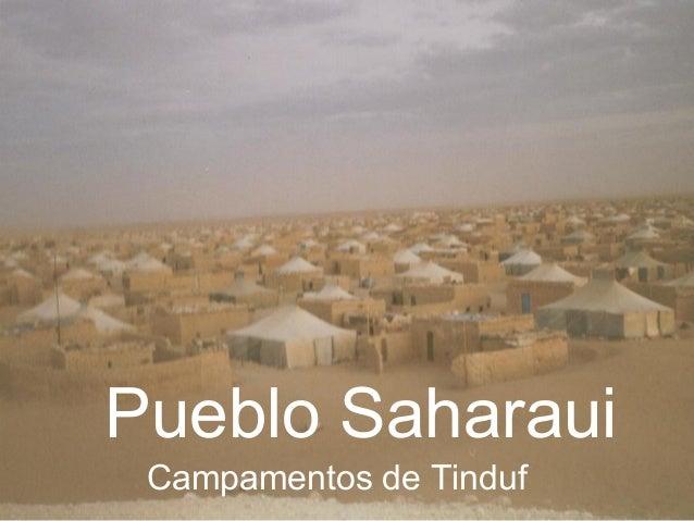 Pueblo SaharauiCampamentos de Tinduf