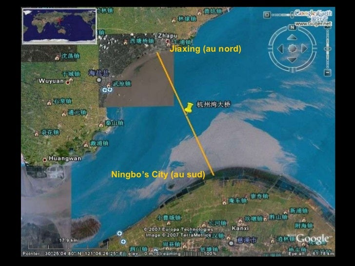 /43 Jiaxing (au nord) Ningbo's City (au sud)