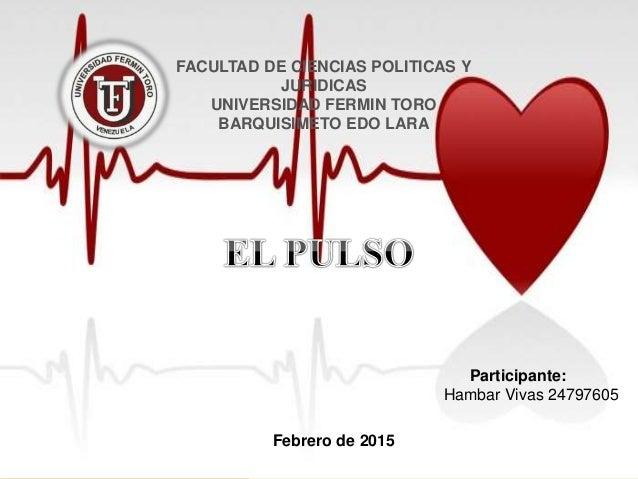 El Pulso Frecuencia Cardiaca