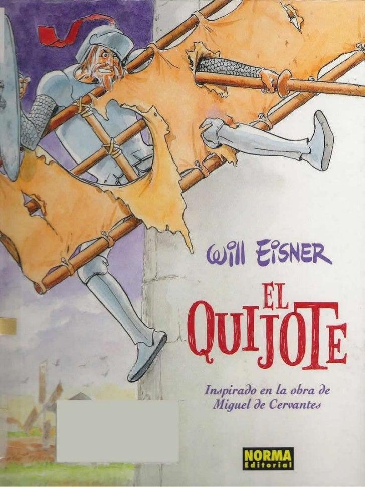 El quijote (cómic) Slide 1