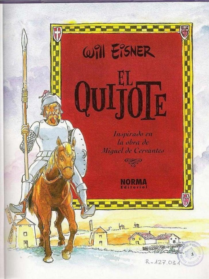 El quijote (cómic) Slide 2