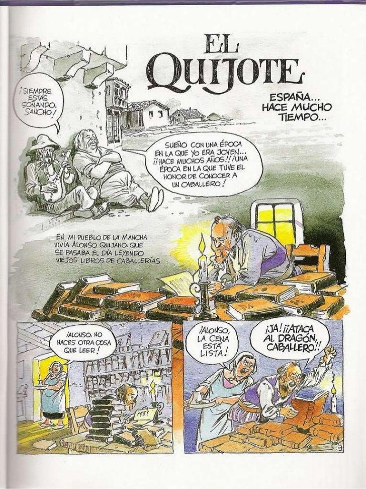 El quijote (cómic) Slide 3