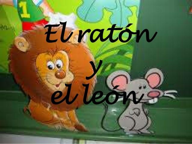 ratón y el león