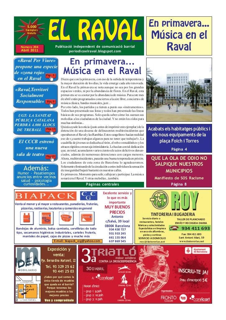 EL RAVAL                        5.000                       Exemplars                                                     ...