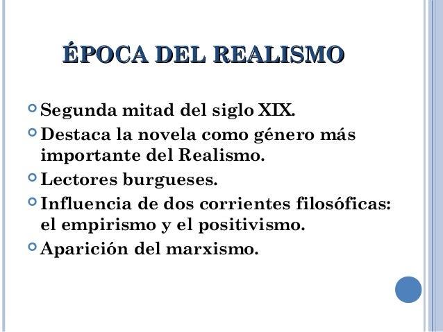 El Realismo. Slide 3
