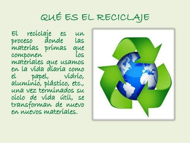 El reciclaje - Cosas de reciclaje ...