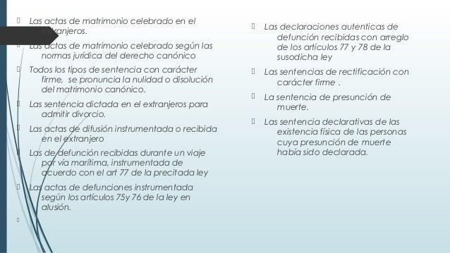 Registro Firme Matrimonio Simbolico : El registro civil como institucion juridica final