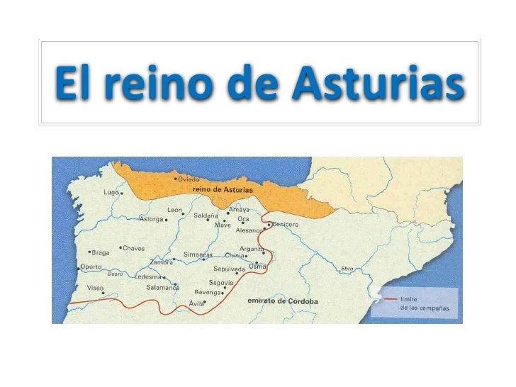 Mapa Reino De Asturias.El Reino De Asturias