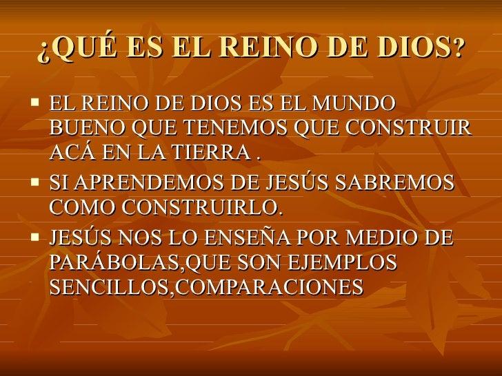 El Reino De Dios 1