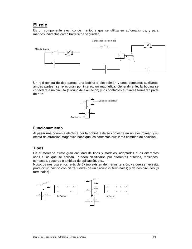 Rele de 8 pines diagrama