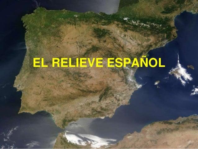 EL RELIEVE ESPAÑOL