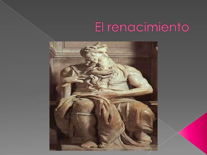    El arte del Renacimiento    se caracteriza por ser un    arte de la idealidad a la    que se aspira. Así, se    repres...