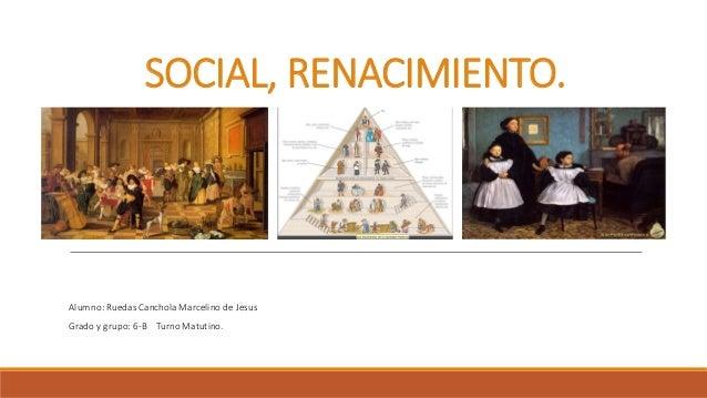 La sociedad del renacimiento. La tendencia creciente del mercantilismo y los principios del capitalismo tienden a ser obse...